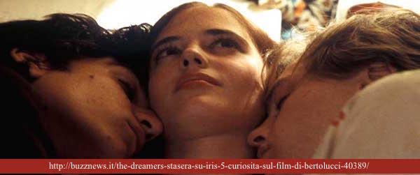 THE DREAMERS di  Bernardo Bertolucci, 2003