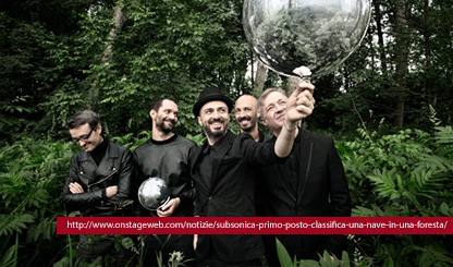 "Subsonica – ""In una Foresta Tour autunno 2014"""
