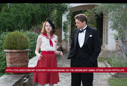 MAGIC IN THE MOONLIGHT di Woody Allen, 2014
