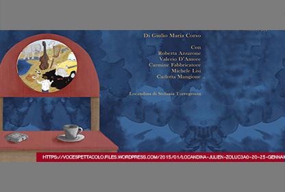 JULIEN ZOLUÀ di Giulio Maria Corso