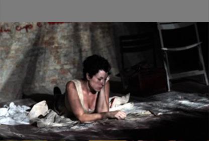 TESSUTO di Alessandra De Luca, con Daniela Scarpari