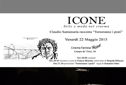 EVENTO ICONE – Claudio Santamaria