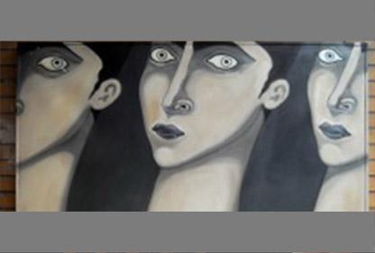 DESTINATI della pittrice Michela Moretti