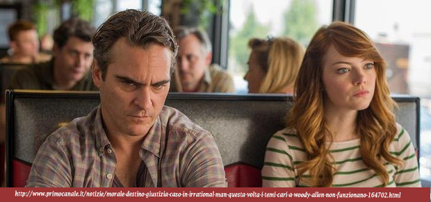 IRRATIONAL MAN di Woody Allen, 2015