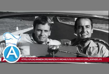 IL SORPASSO di Dino Risi, 1962