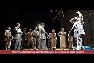 SEI PERSONAGGI IN CERCA D'AUTORE di Luigi Pirandello, regia di Gabriele Lavia