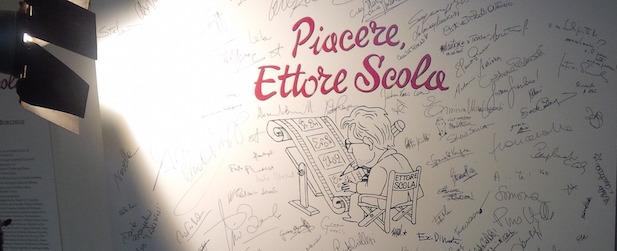 PIACERE, ETTORE SCOLA – Mostra
