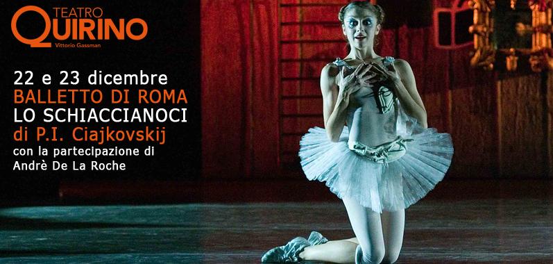 LO SCHIACCIANOCI di Petr Il'ic Cajkovskij, Balletto di Roma – Regia e coreografia Mario Piazza