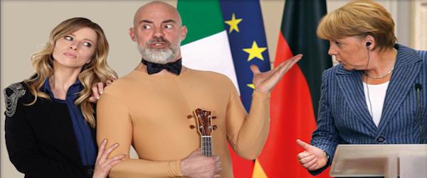 CE LO CHIEDE L'EUROPA regia di Vanina Marini, con Fabio Avaro, Vanina Marini e la Banda dell'Uku