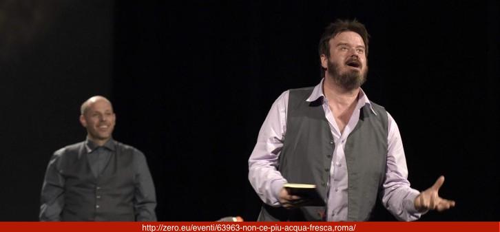 NON C'È ACQUA PIÙ FRESCA di Giuseppe Battiston, con musiche originali e dal vivo diPiero Sidoti