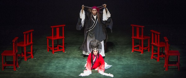 FAUST di Goethe, ricerca sul linguaggio dell'Opera di Pechino di Li Meini, regia di Anna Peschke