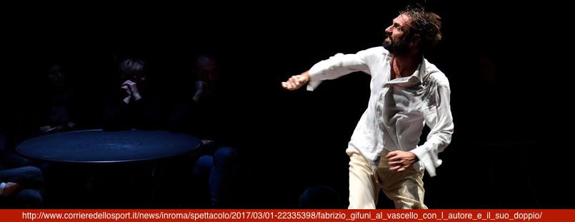 L'AUTORE E IL SUO DOPPIO di Fabrizio Gifuni, ideazione e regiadi Roberta Lena, al suonoG.U.P. alcaro