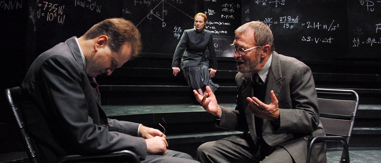 COPENAGHEN di Michael Frayn, regiaMauro Avogadro