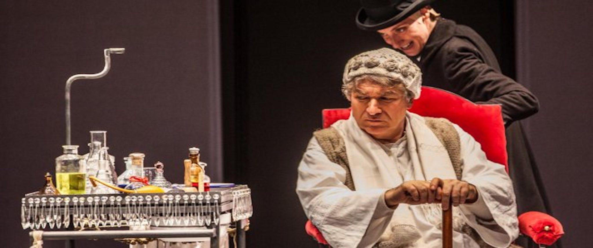 IL MALATO IMMAGINARIO, regia di Andrée Ruth Shammah