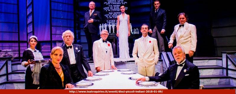 DIECI PICCOLI INDIANI…E NON RIMASE NESSUNO di Agatha Christie progetto artistico di Gianluca Ramazzotti e Ricard Reguant