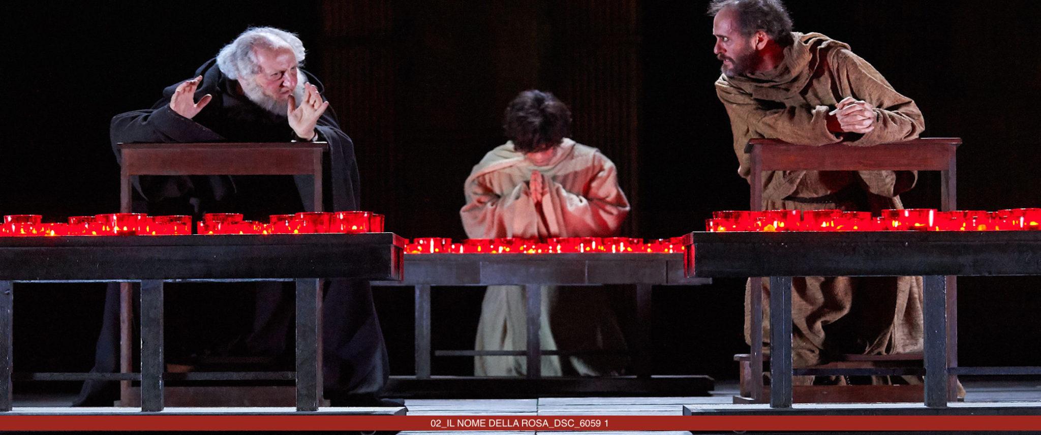IL NOME DELLA ROSA di Umberto Eco – adattamento di Stefano Massini – regia di Leo Muscato