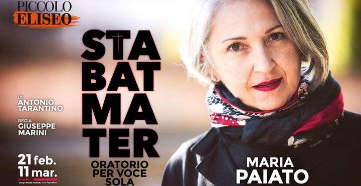 STABAT MATER di Antonio Tarantino, regia di Giuseppe Marini