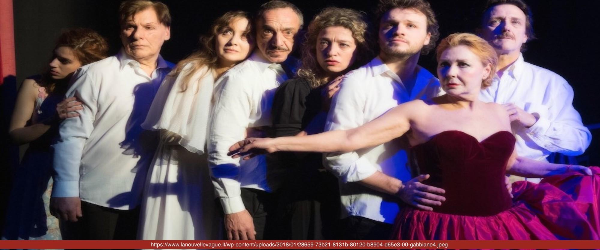 IL GABBIANO di Anton Cechov, regia di Giancarlo Nanni ripresa da Manuela Kustermann