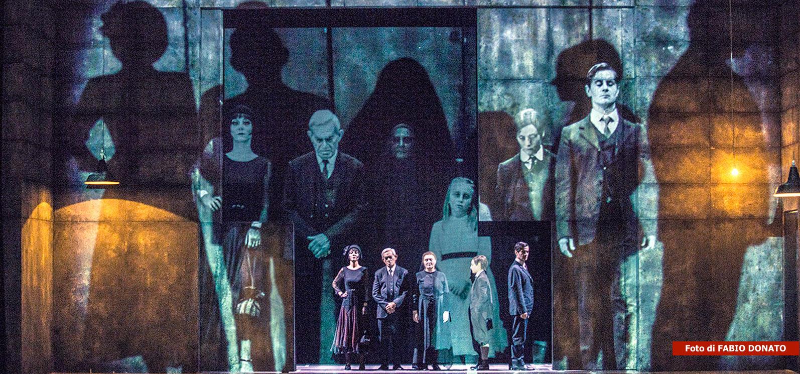 SEI PERSONAGGI IN CERCA D'AUTORE di Luigi Pirandello, regia di Luca De Fusco
