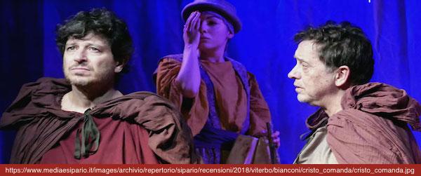 COME CRISTO COMANDA di Michele La Ginestra, regia di Roberto Marafante