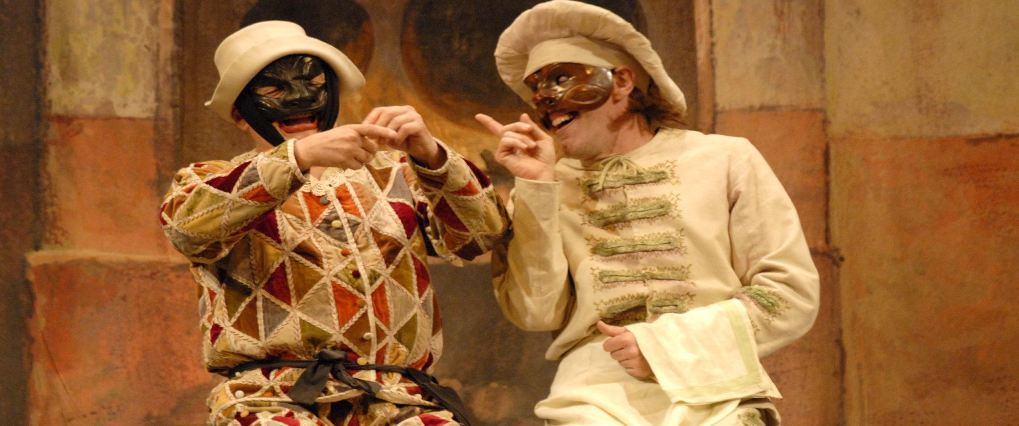 ARLECCHINO SERVITORE DI DUE PADRONI di Carlo Goldoni, regia di Giorgio Strehler
