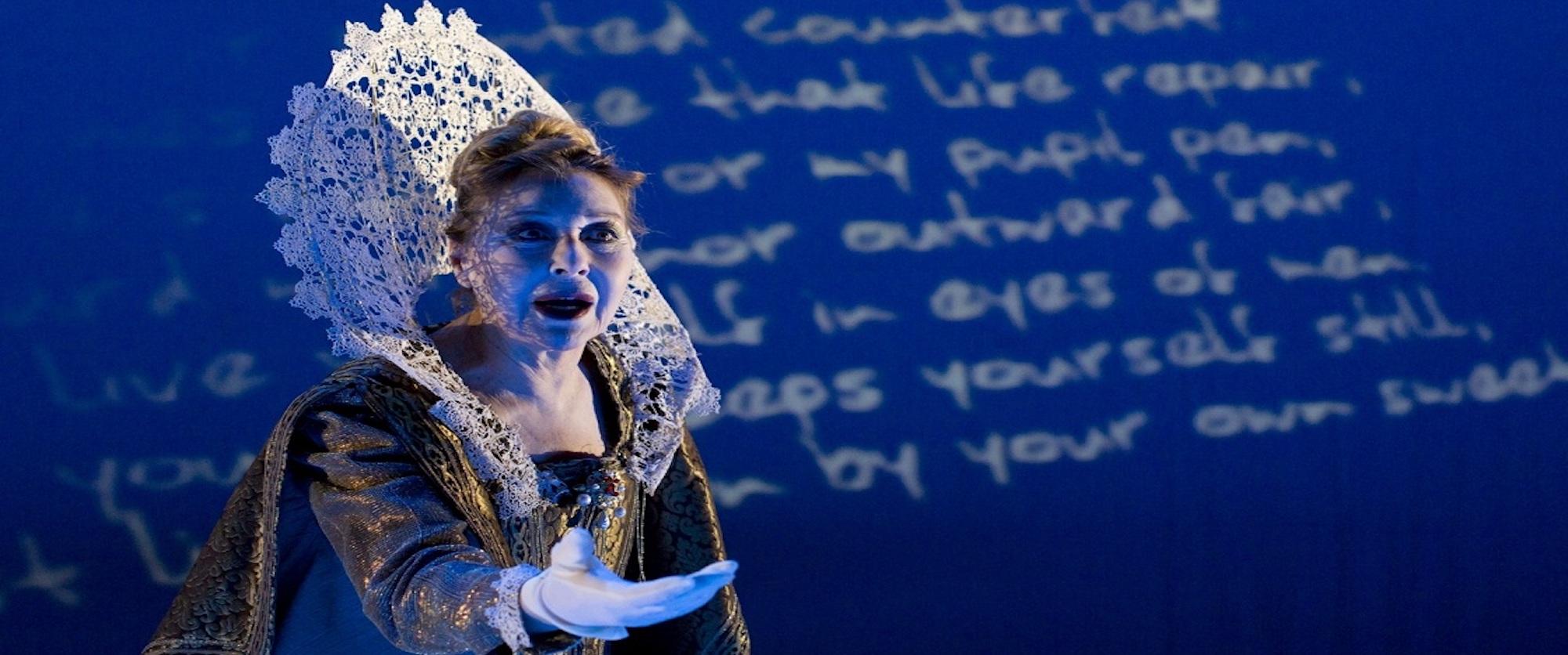 DICHIARO GUERRA AL TEMPO da I Sonetti di William Shakespeare, regia di Daniele Salvo