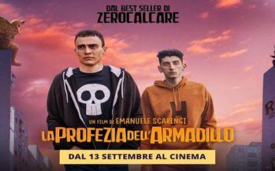 LA PROFEZIA DELL'ARMADILLO di Emanuele Scaringi, 2018