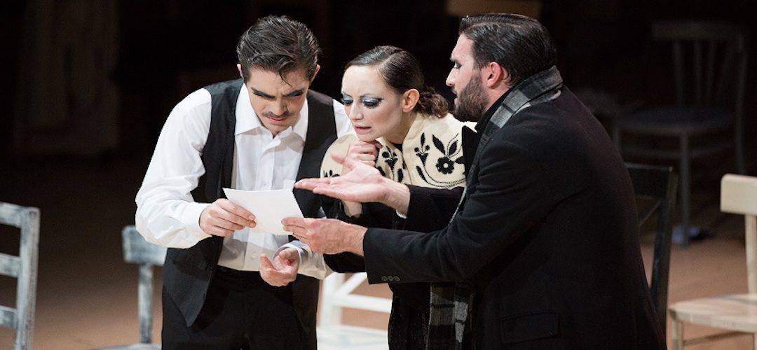 FELICITA'…TA'…TA di Massimo Di Michele, con Dario Battaglia, Luisa Borini e Edoardo Coen
