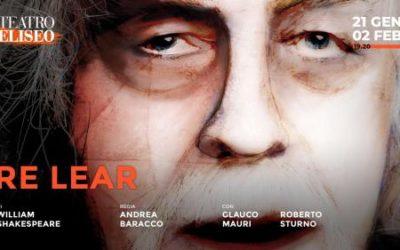 RE LEAR di William Shakespeare, regia di Andrea Baracco, con Glauco Mauri e Roberto Sturno