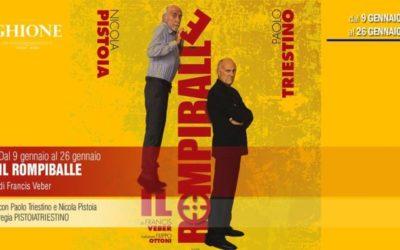 IL ROMPIBALLE di Francis Veber, regia Pistoia e Triestino