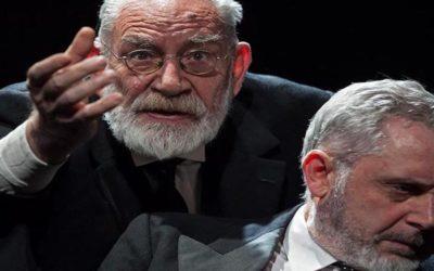 LE BRACI all'opera di Sandor Marai, drammaturgia e regia di Laura Angiulli, con Renato Carpentieri e Stefano Jotti