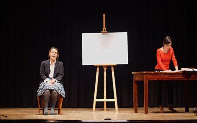 ASPIDE. GOMORRA IN VENETO di Tommaso Fermariello, con Gioia D'Angelo e Martina Testa