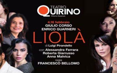 LIOLÀ di Luigi Pirandello, regia di Francesco Bellomo